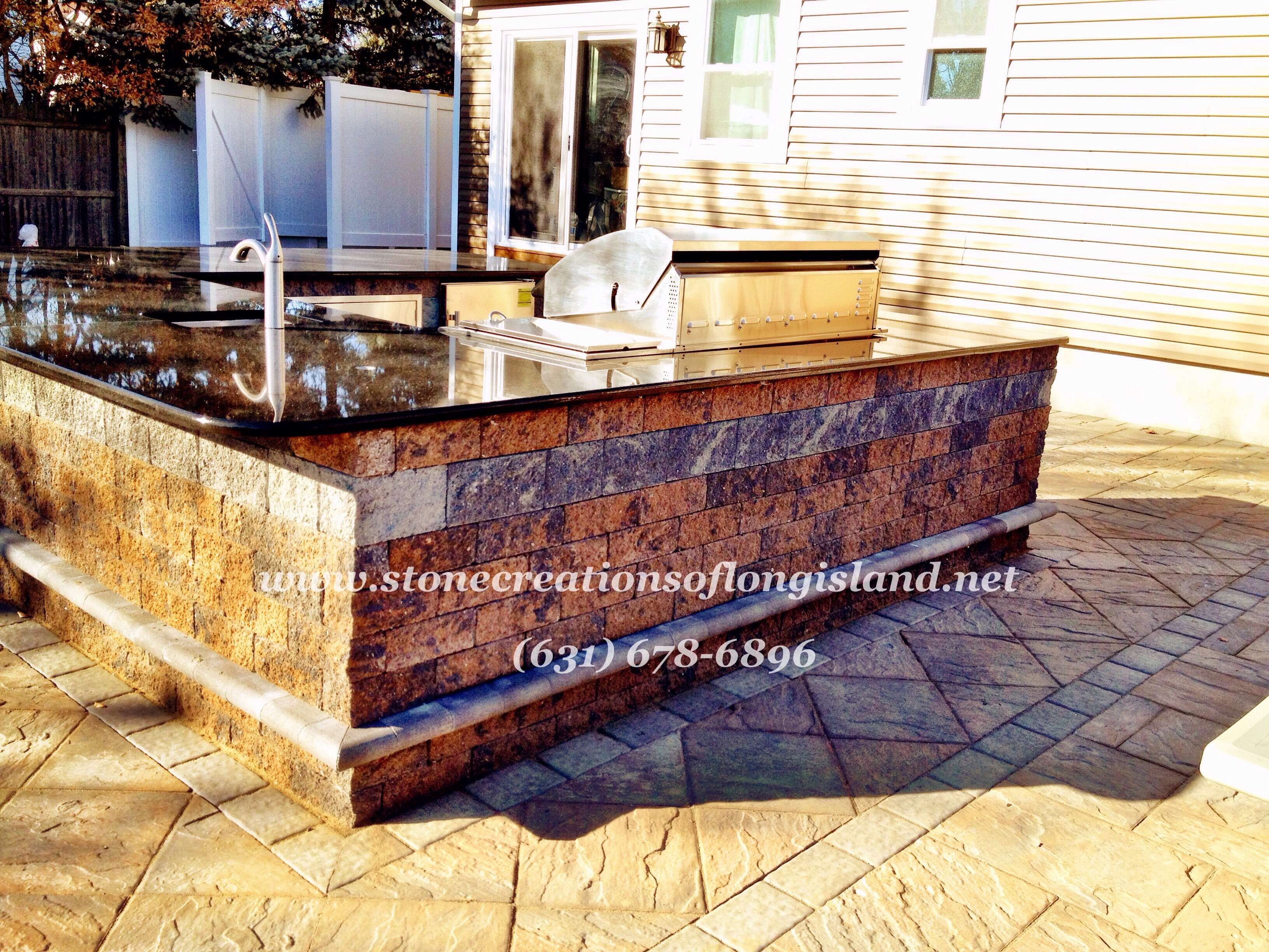 How To Seal Bluestone Countertops Stone Creations Of Long Island Pavers And Masonry Corp